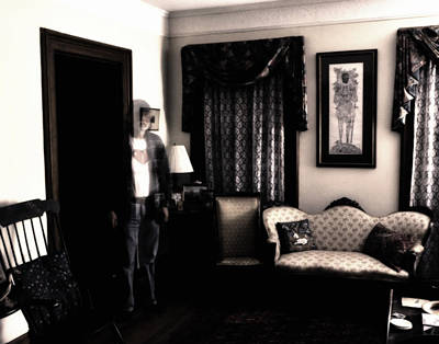 Haunted House Photograph - Haunting Myself by Ross Powell