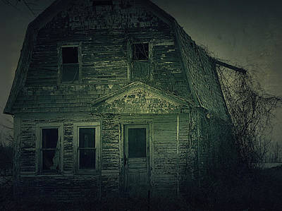 Haunted House Photograph - Haunting by Scott Hovind