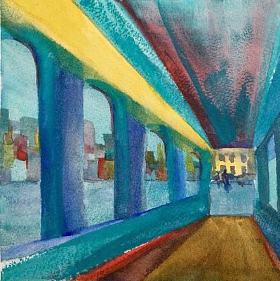 Havana Arches II Print by Lynne Bolwell