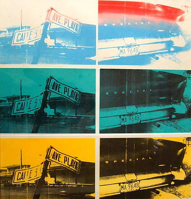 Warhol Painting - Havana Four by David Studwell