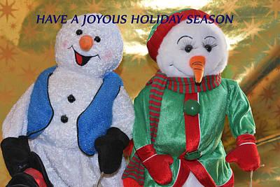 Hanukah Photograph - Have A Joyous Holiday Season by Linda Brody