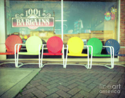 Photograph - Have A Seat by Sonja Quintero