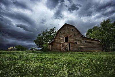 Barn Wood Photograph - Haven by Thomas Zimmerman