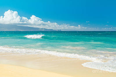 Hawaii Beach Treasures Print by Sharon Mau