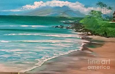 Hawaii Honeymoon Original by Jill Morris