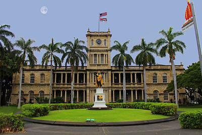Hawaii Supreme Court Print by Michael Rucker