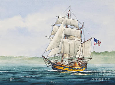 Hawaiian Chieftain Print by James Williamson