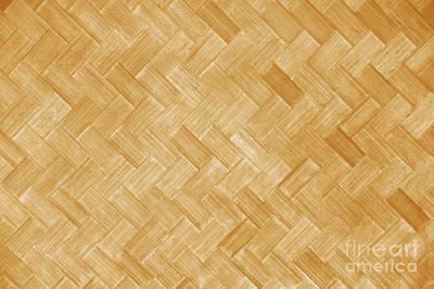 Hawaiian Lauhala Mat Print by Brandon Tabiolo - Printscapes
