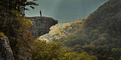 Arkansas Photograph - Hawksbill Crag by Matthew Parks