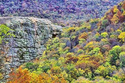 Hawksbill Crag Colors Print by JC Findley