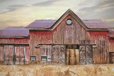 Photograph - Hay Barn by Lori Deiter