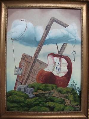 Hay Puertas Que No Se Cierran Print by Carlos Rodriguez Yorde
