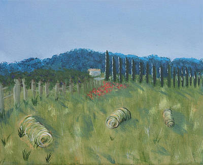 Haystacks Original by Maura Satchell