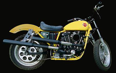 Hd Racebike II Original by Lawrence Christopher