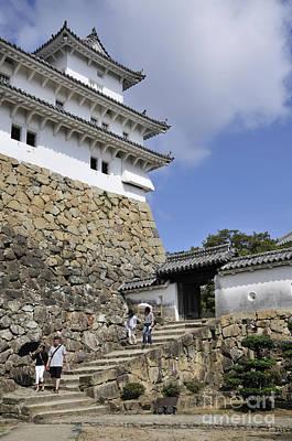 Castles Photograph - He Gate Himeji Castle Japanese Castles Doorway Gateway Japan by Andy Smy