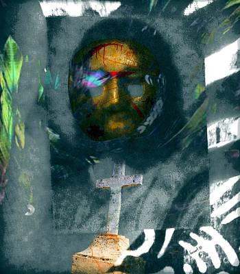 Yesayah Mixed Media - He Rose Already by Fania Simon