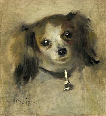 Pierre-auguste Renoir Painting - Head Of A Dog by Pierre-Auguste Renoir
