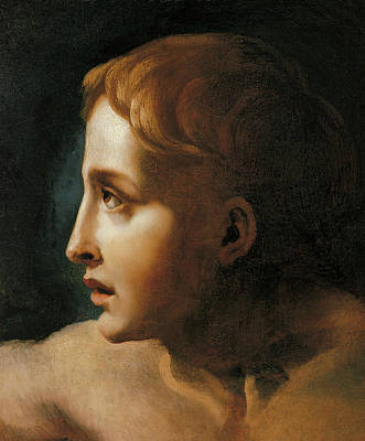 Head Of A Youth Print by Theodore Gericault
