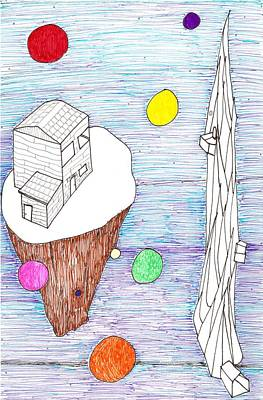 Head Space Print by Luke Margetts