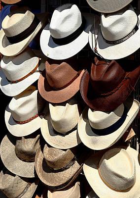 Cowboy Hat Photograph - Head Stand by Joe Kozlowski