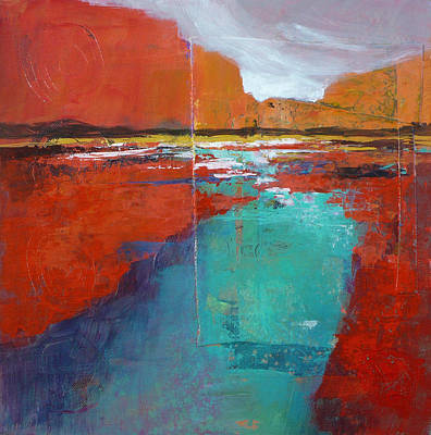 Painting - Heading West No.1 by Melody Cleary