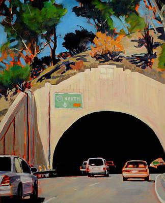Pasadena Painting - Headlong by Richard  Willson