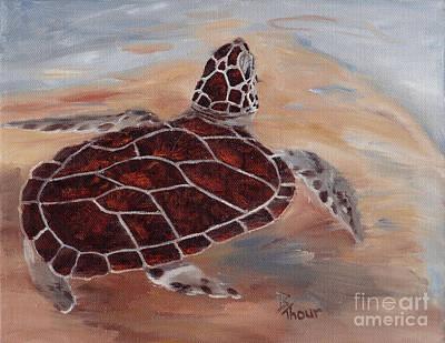 Brenda Brown Art Painting - Heads Up by Brenda Thour