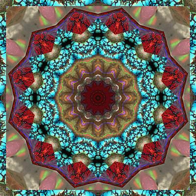 Healing Mandala 35 Print by Bell And Todd