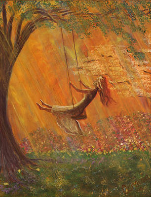 Swing Painting - Healing Sonshine by Charlotte Smith