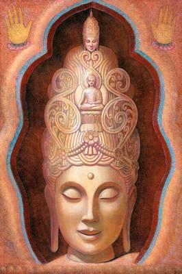 Healing Tara Print by Sue Halstenberg