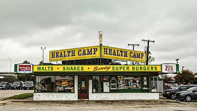 Health Camp Print by Stephen Stookey