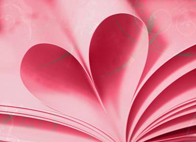 Heart A Flutter Print by Rebecca Cozart