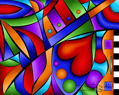 Heart And Soul Print by Debi Payne