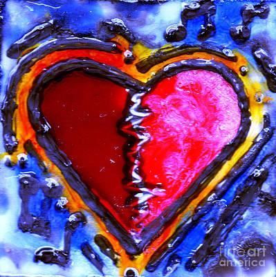 Heart Beat Rhythm Original by Genevieve Esson