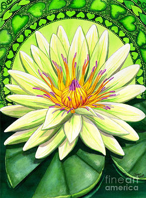 Chakra Painting - Heart Chakra by Catherine G McElroy