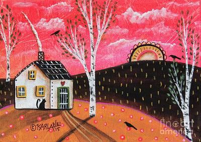 Heart House Original by Karla Gerard