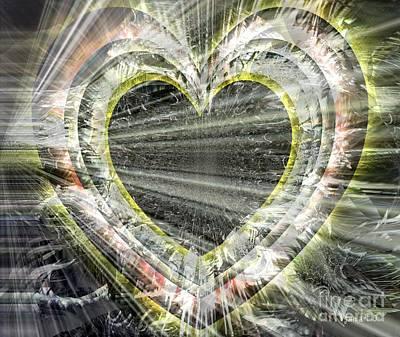 Yesayah Digital Art - Heart Of A Giver by Fania Simon