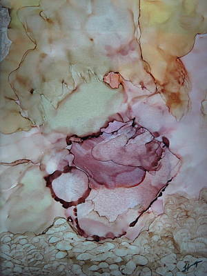 Solid Mixed Media - Heart Of Stone by Tammy Finnegan