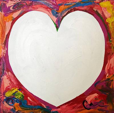 Painting - Heart Series 32 by Mac Worthington