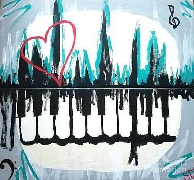 Heartbeat Of The City Print by Scott D Van Osdol