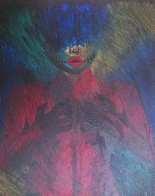 Heartbreak Print by Dessie  Sutej
