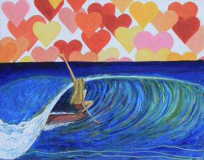 Heartbreaker Painting - Heartbreaker by Alexandra Talese