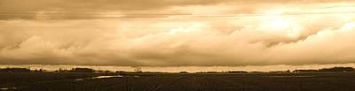 Cornfield Mixed Media - Heartland  by Bruce McEntyre