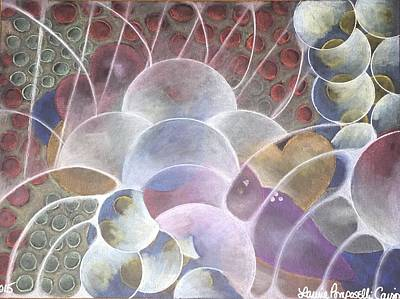 Hearts Bubbling Over Original by Laurie Cairone