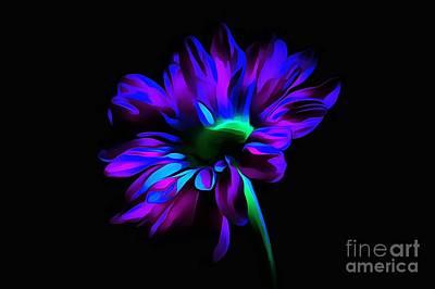 Flower Abstract Photograph - Heaven Sent by Krissy Katsimbras