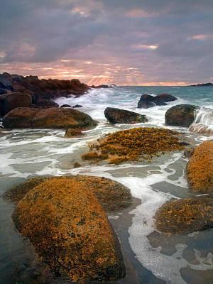 Fleurieu Peninsula Photograph - Heavenly Dawning by Mike  Dawson