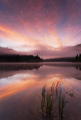Heavenly Skies Print by Mike  Dawson