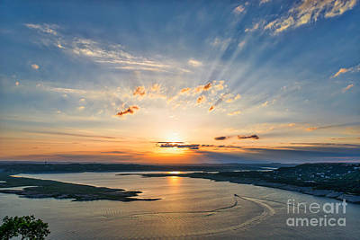 Austin Photograph - Heavenly Sunset At The Oasis by Tod and Cynthia Grubbs