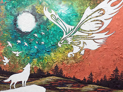 Heaven's Sorrow Original by Amanda Schambon