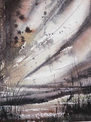 Heavy Rain Print by Keran Sunaski Gilmore